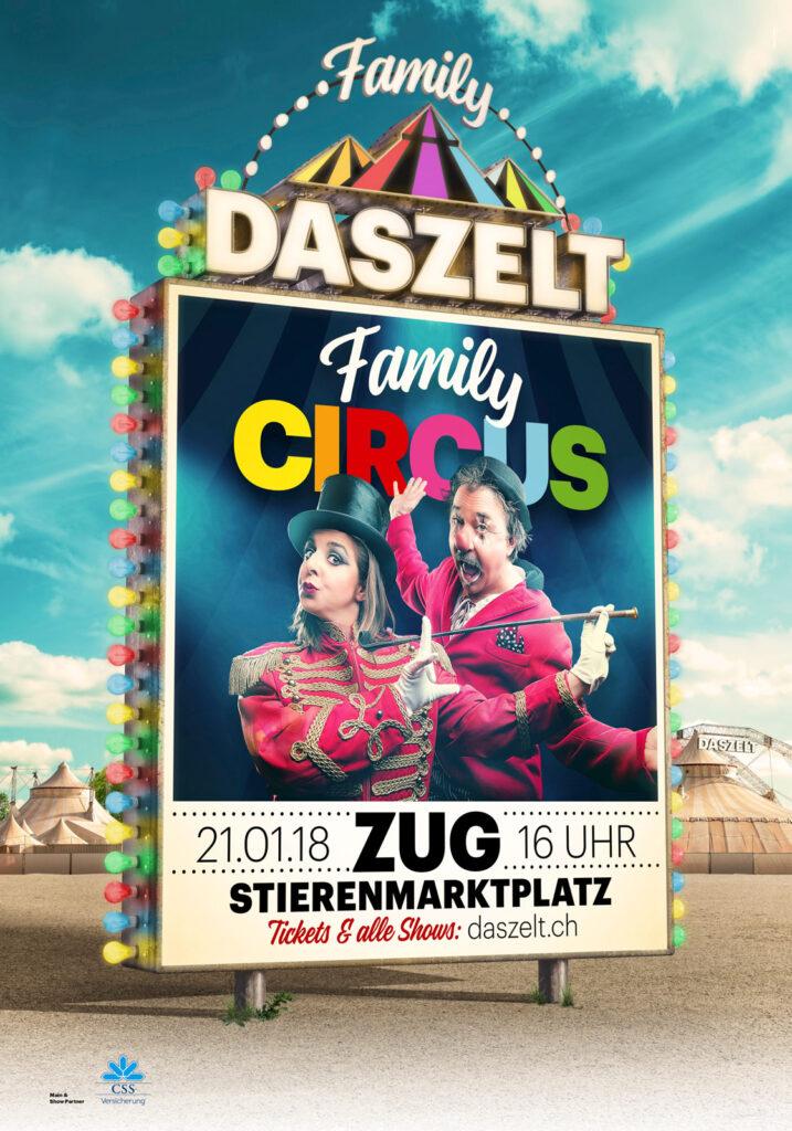 Show-Plakat Das Zelt