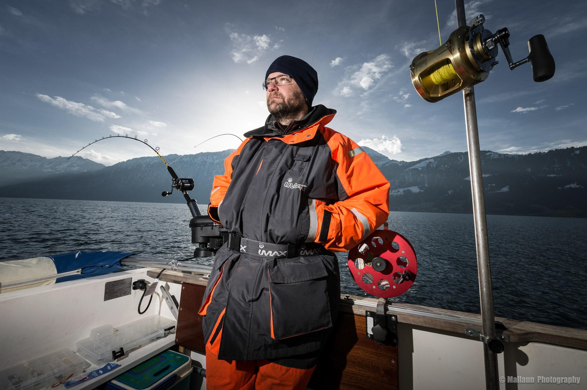 Phils grosse Passion ist das Fischen © Mallaun Photography