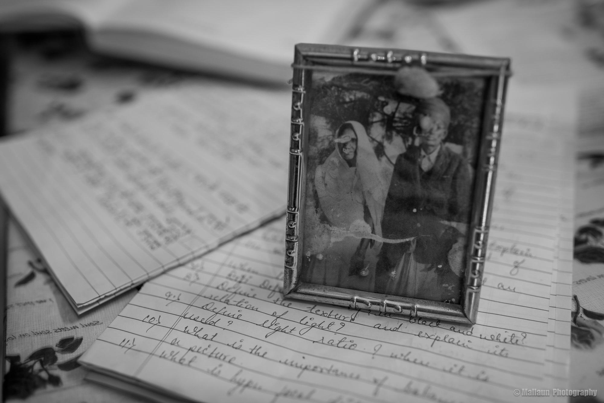 Das allererste Bild, das Shivji Joshi damals mit einer Agfa-Kamera fotografier hat © Mallaun Photography