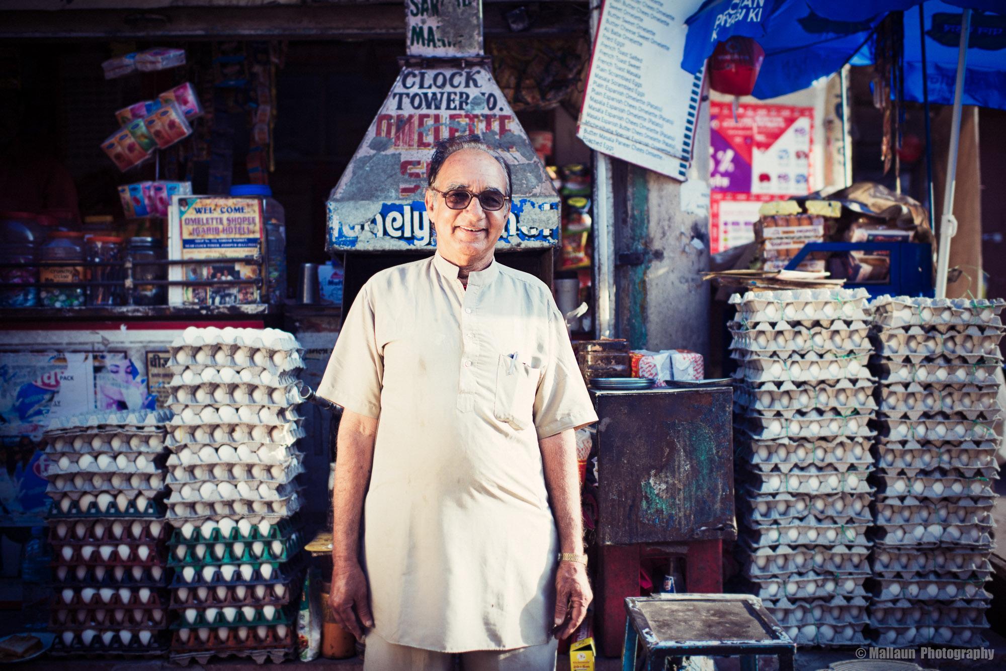 Ramkishan Gawlani ist der berühmteste Koch Indiens © Mallaun Photography