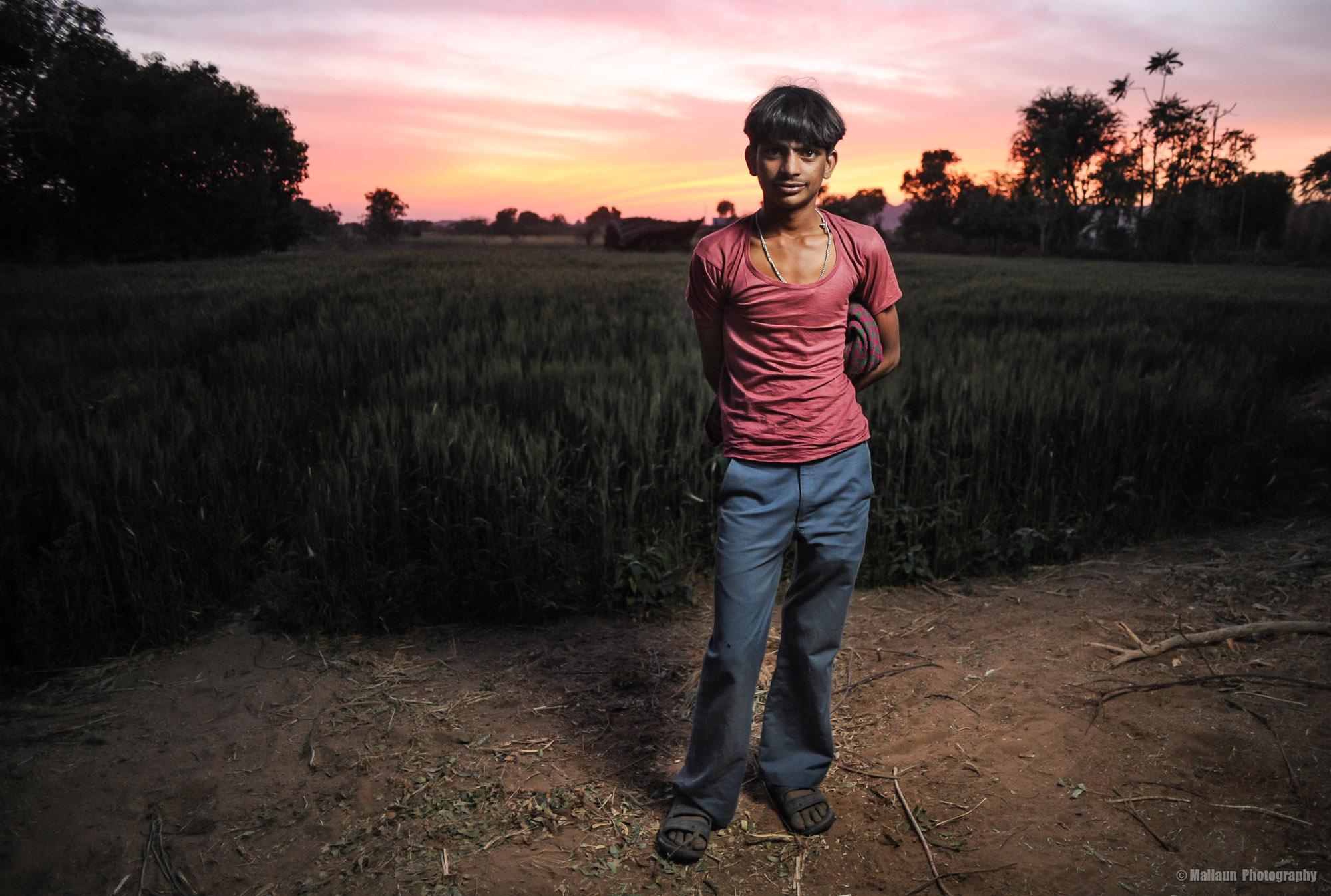 Bauer in Pushkar, Rajasthan Indien © Mallaun Photography
