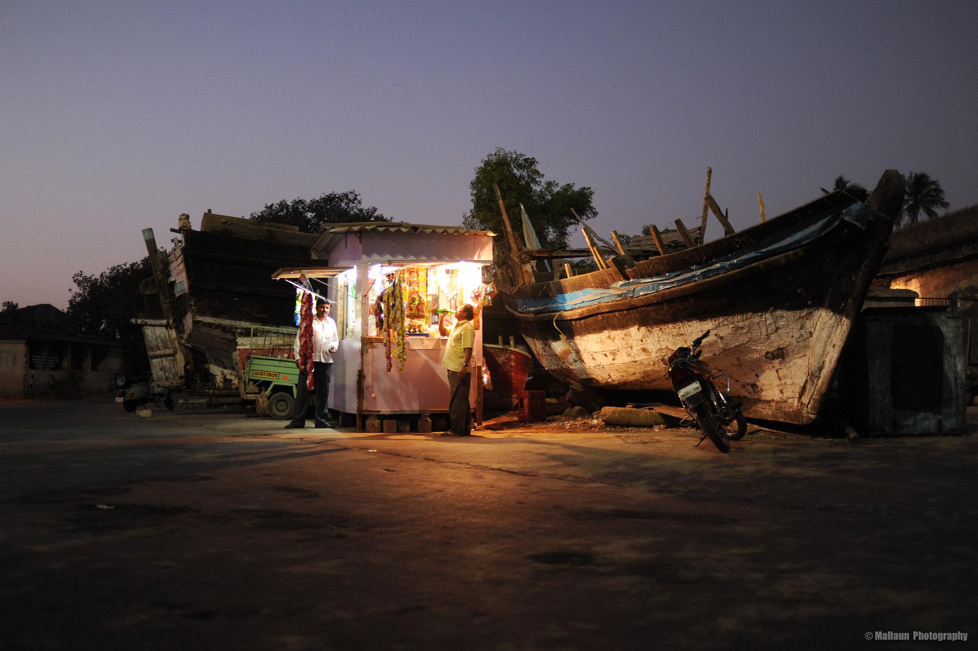 Fischerdorf Daman in Indien © Mallaun Photography
