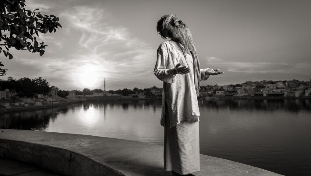 Naga Baba in Pushkar © Mallaun Photography