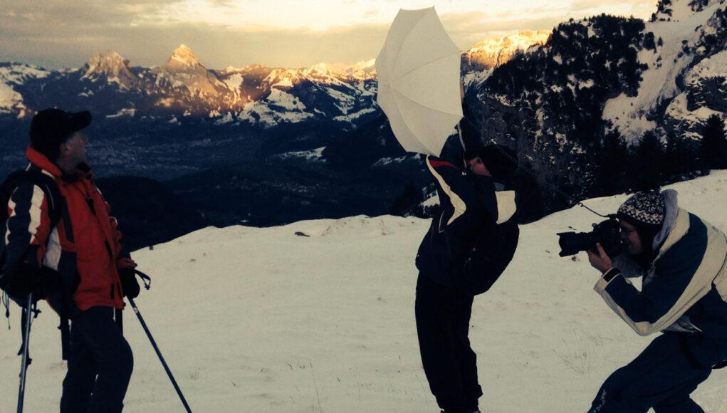 Making of auf der Alp Tritt