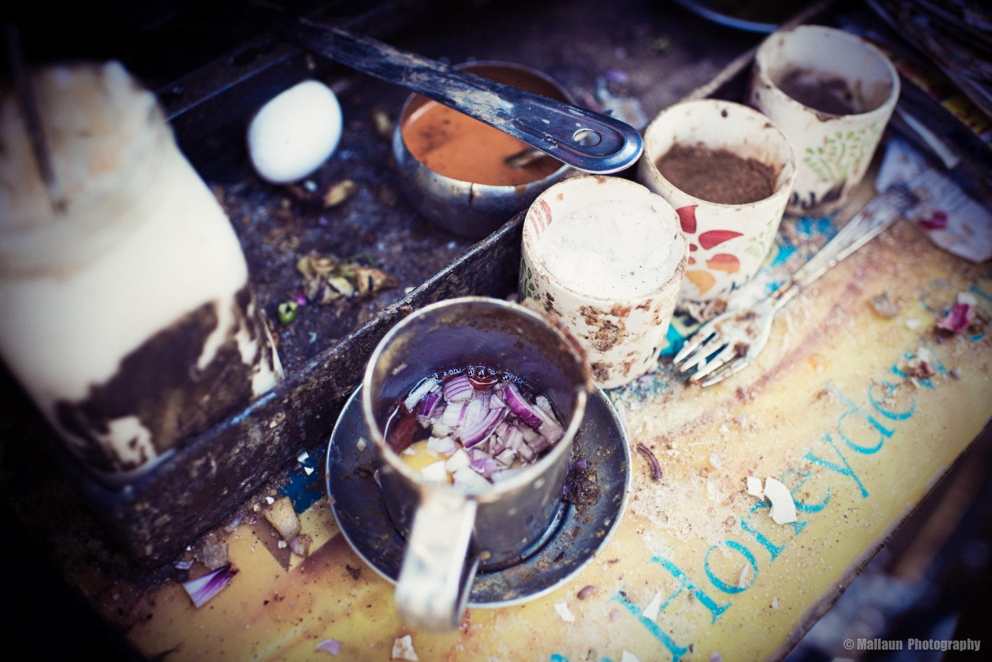 Jedes Omelette wird für den Kunden frisch zubereitet © Mallaun Photography