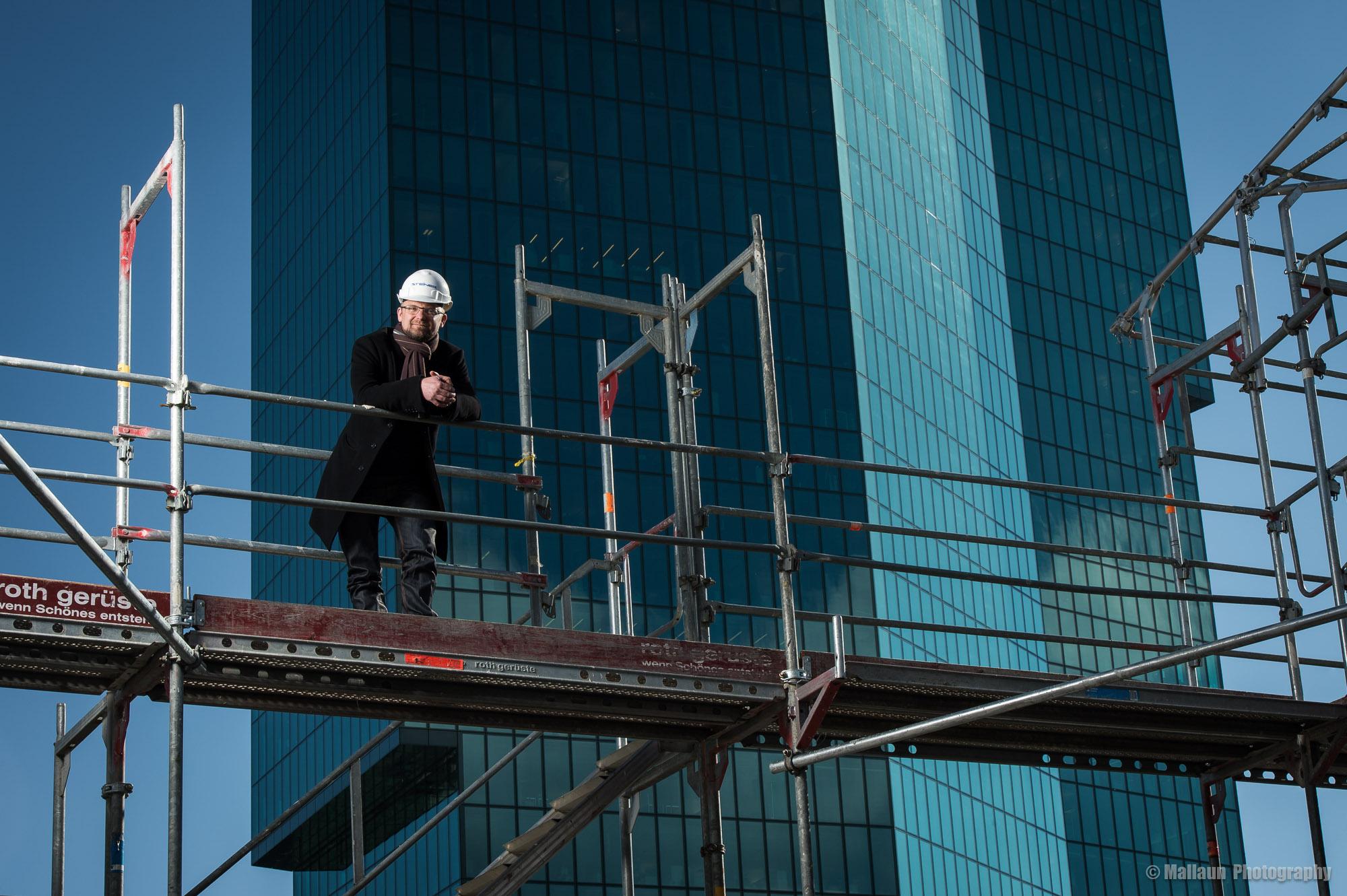 Der Prime Tower beeindruckt ihn nicht sonderlich © Mallaun Photography