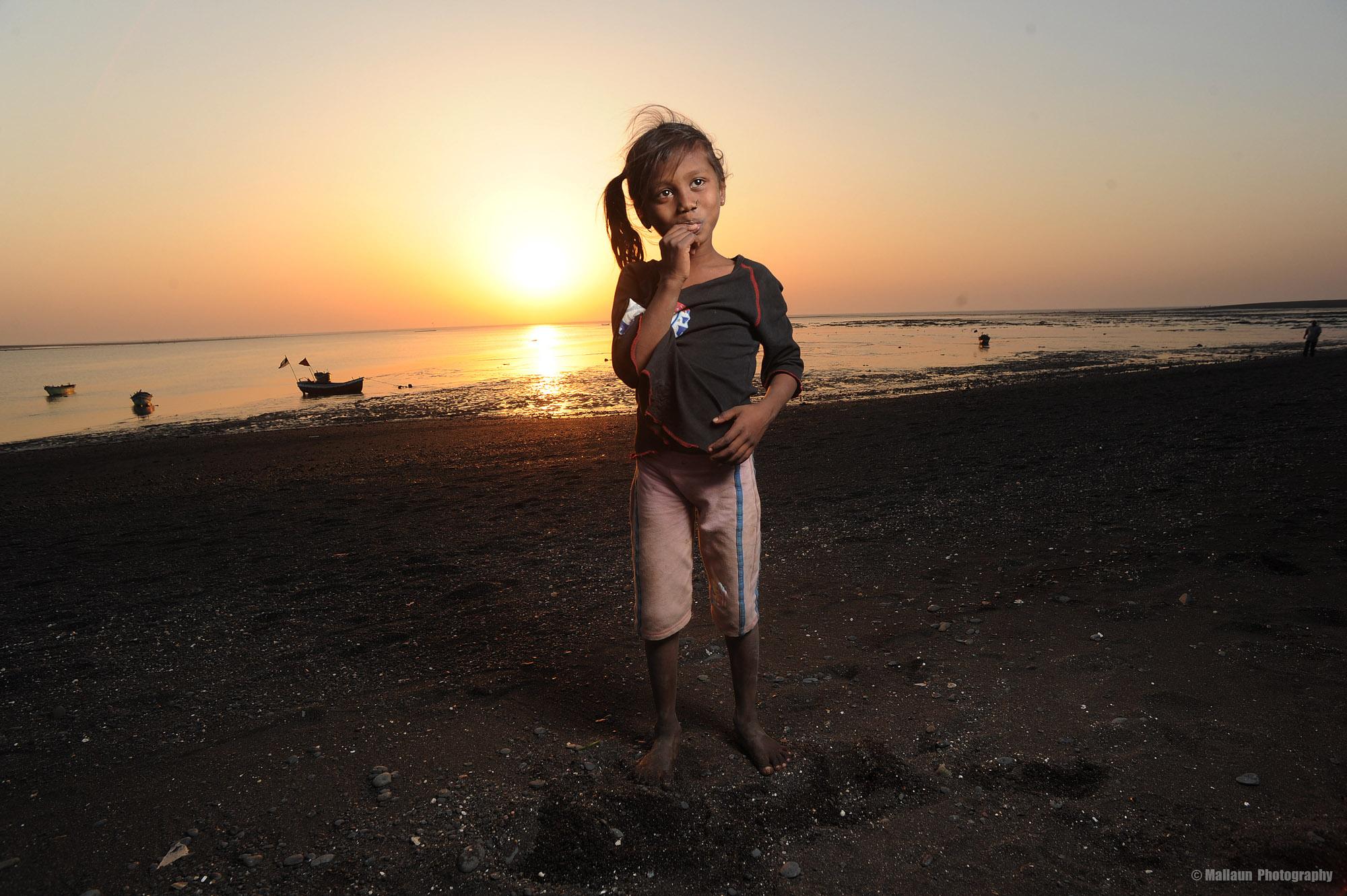 Fischer Girl in Daman Indien © Mallaun Photography