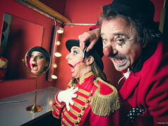 Dora Domatore und Clown Pepe im Zirkus Balloni © Mallaun Photography