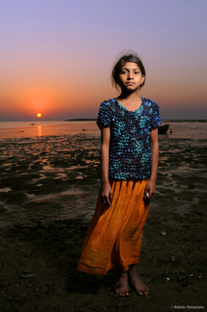 Fischer Girl in Daman, Indien © Mallaun Photography