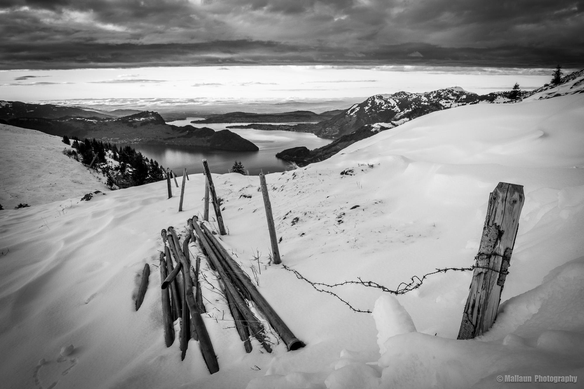"""""""Ich kann anpacken"""" herrliche Sicht auf den Vierwaltstättersee © Mallaun Photography"""