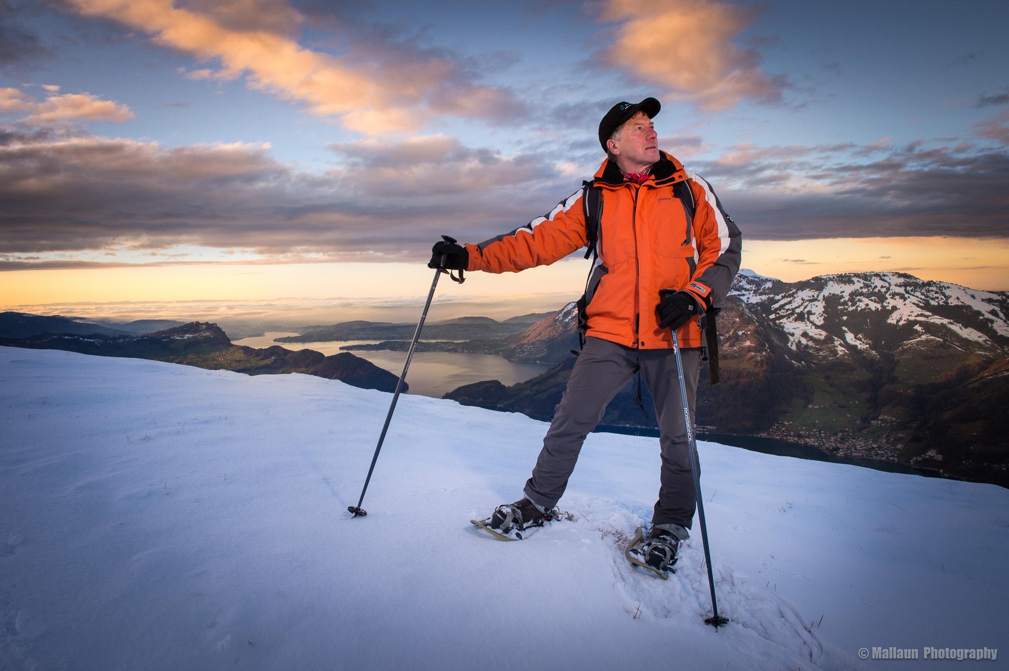 Von der Alp Tritt hat man einen herrlichen Blick auf den Vierwaltstättersee © Mallaun Photography