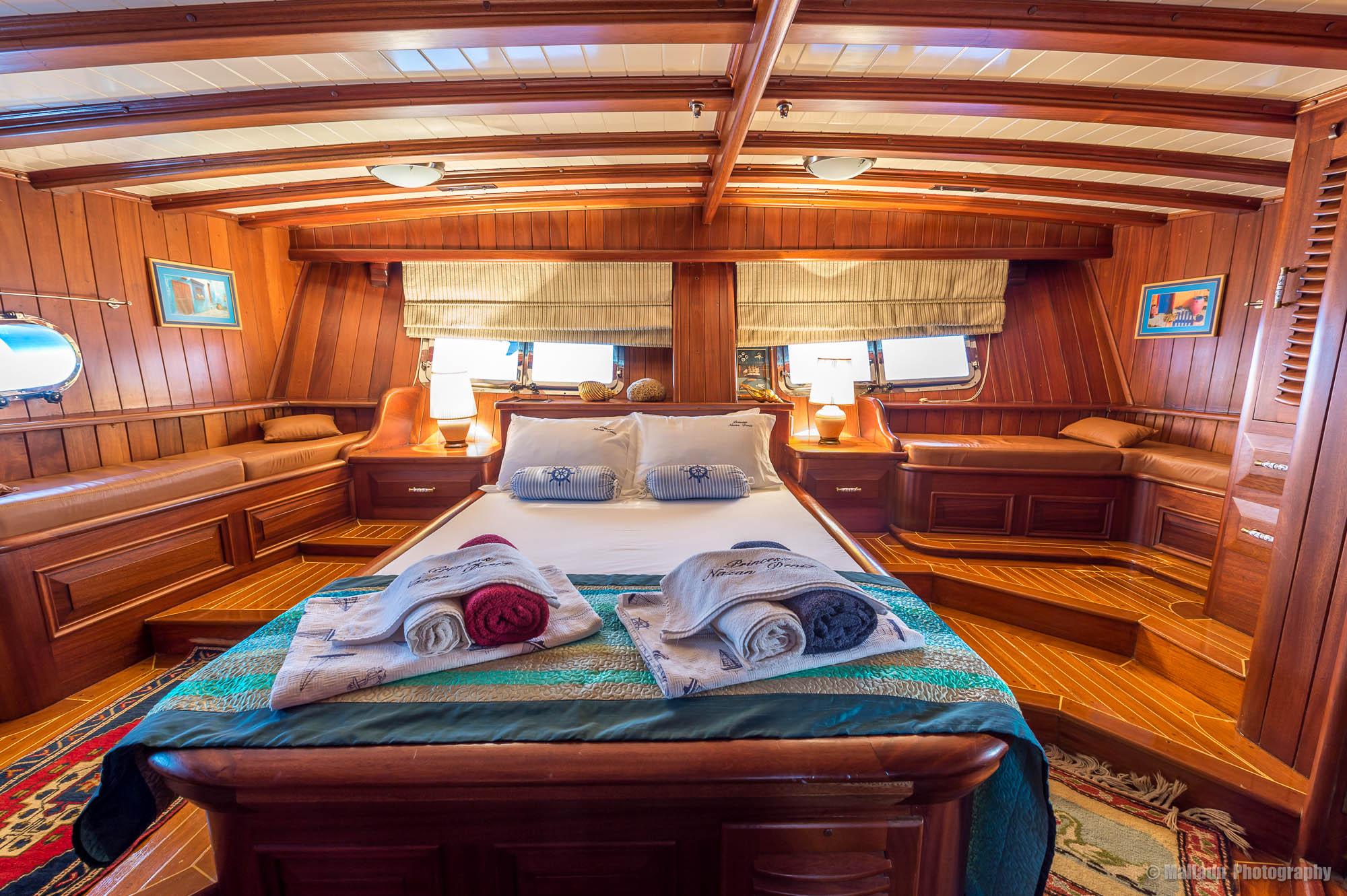 Die Captain-Suite der Prinzess Nazan Deniz © Mallaun Photography