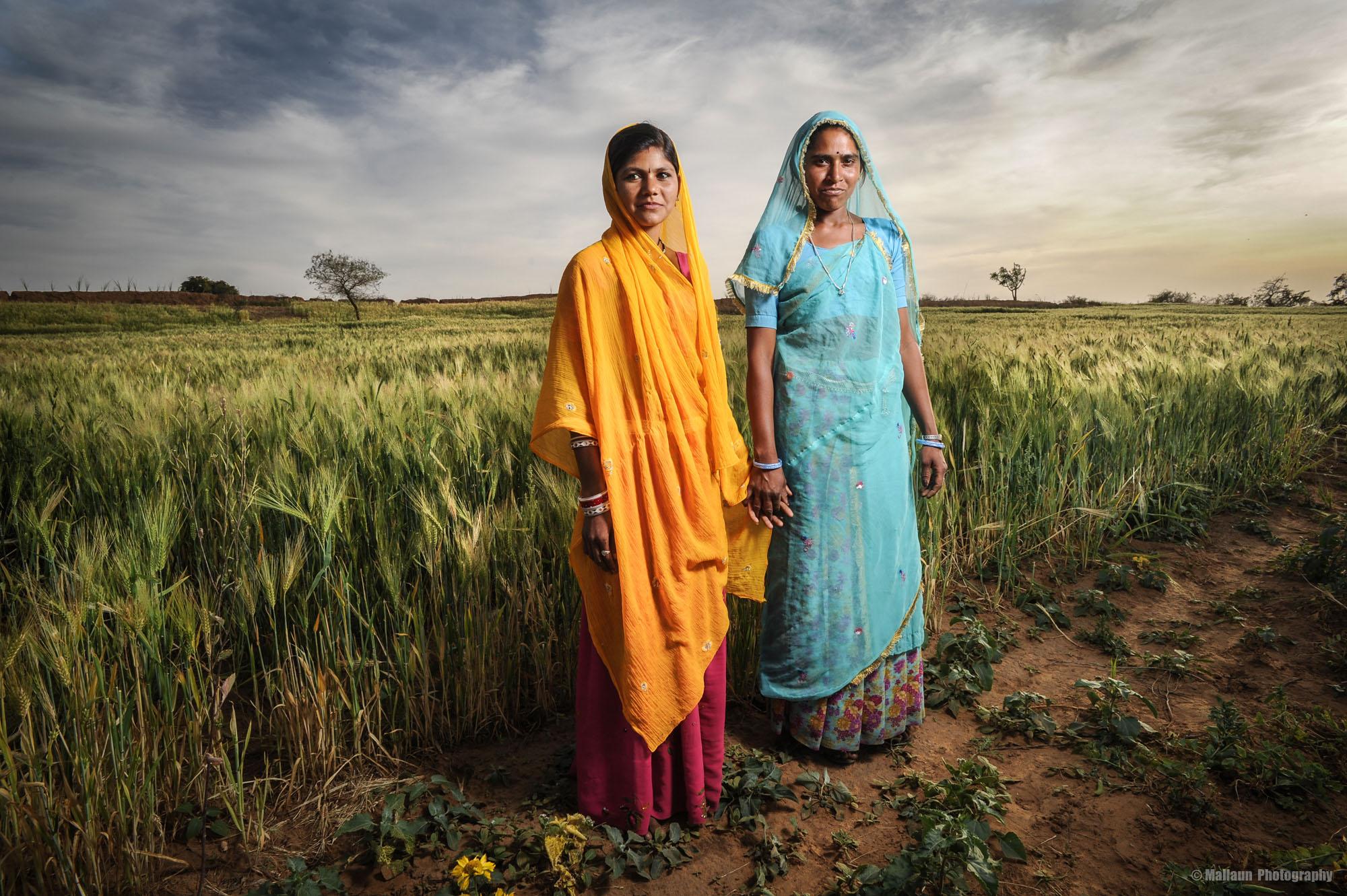 Bäuerinnen in Pushkar, Rajasthan Indien © Mallaun Photography