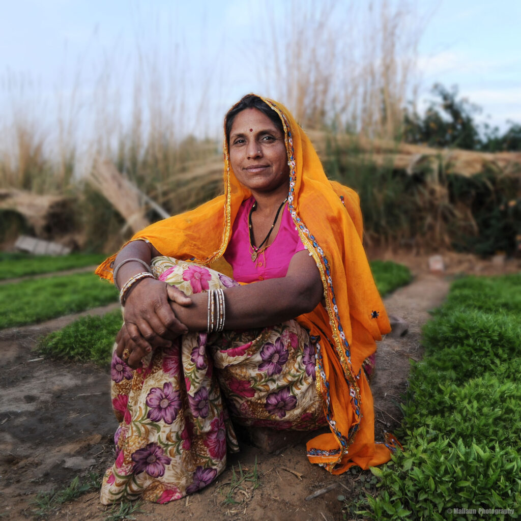 Bäuerin in Pushkar, Rajasthan Indien © Mallaun Photography