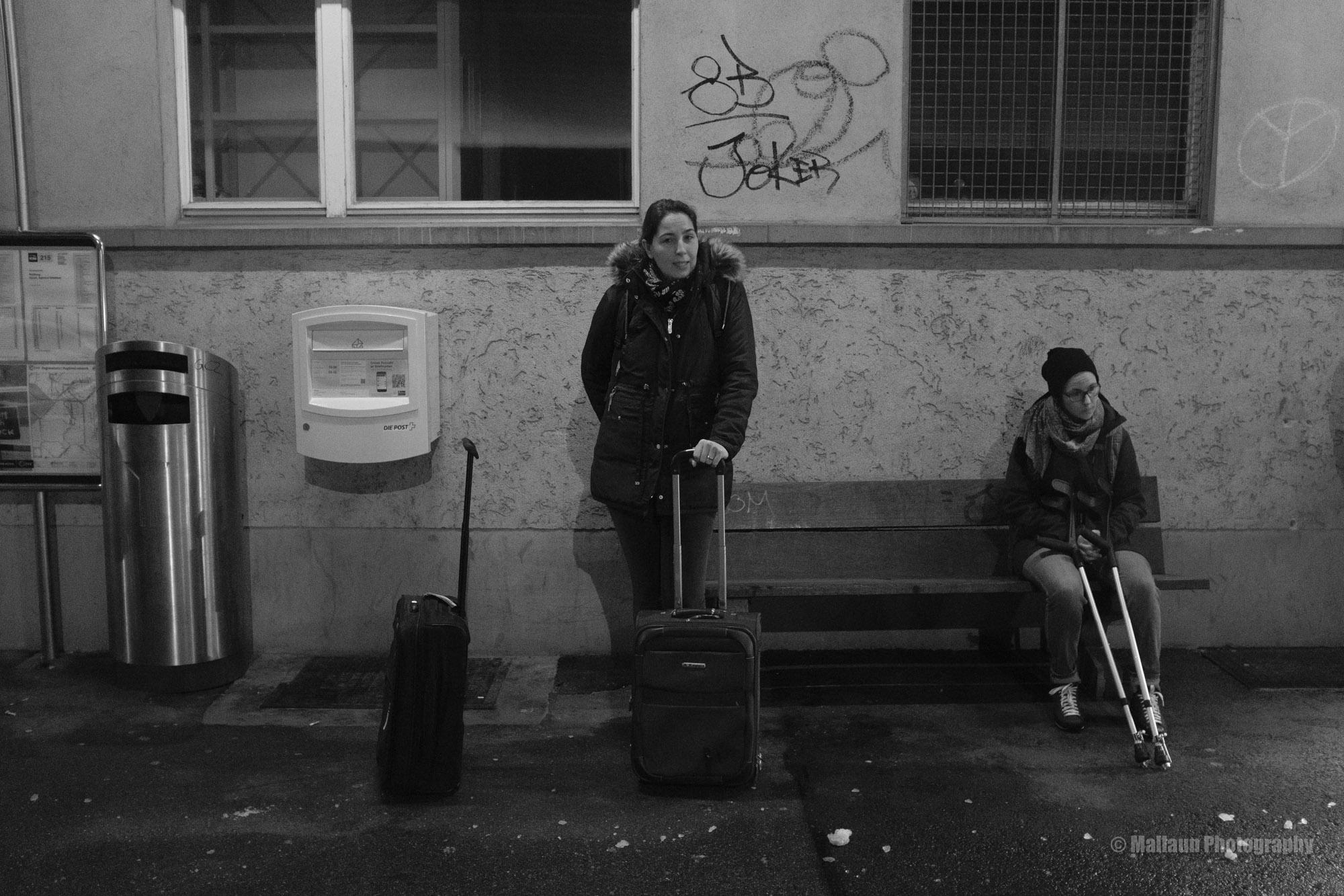 Morgens um 6 zum Flughafen © Mallaun Photography