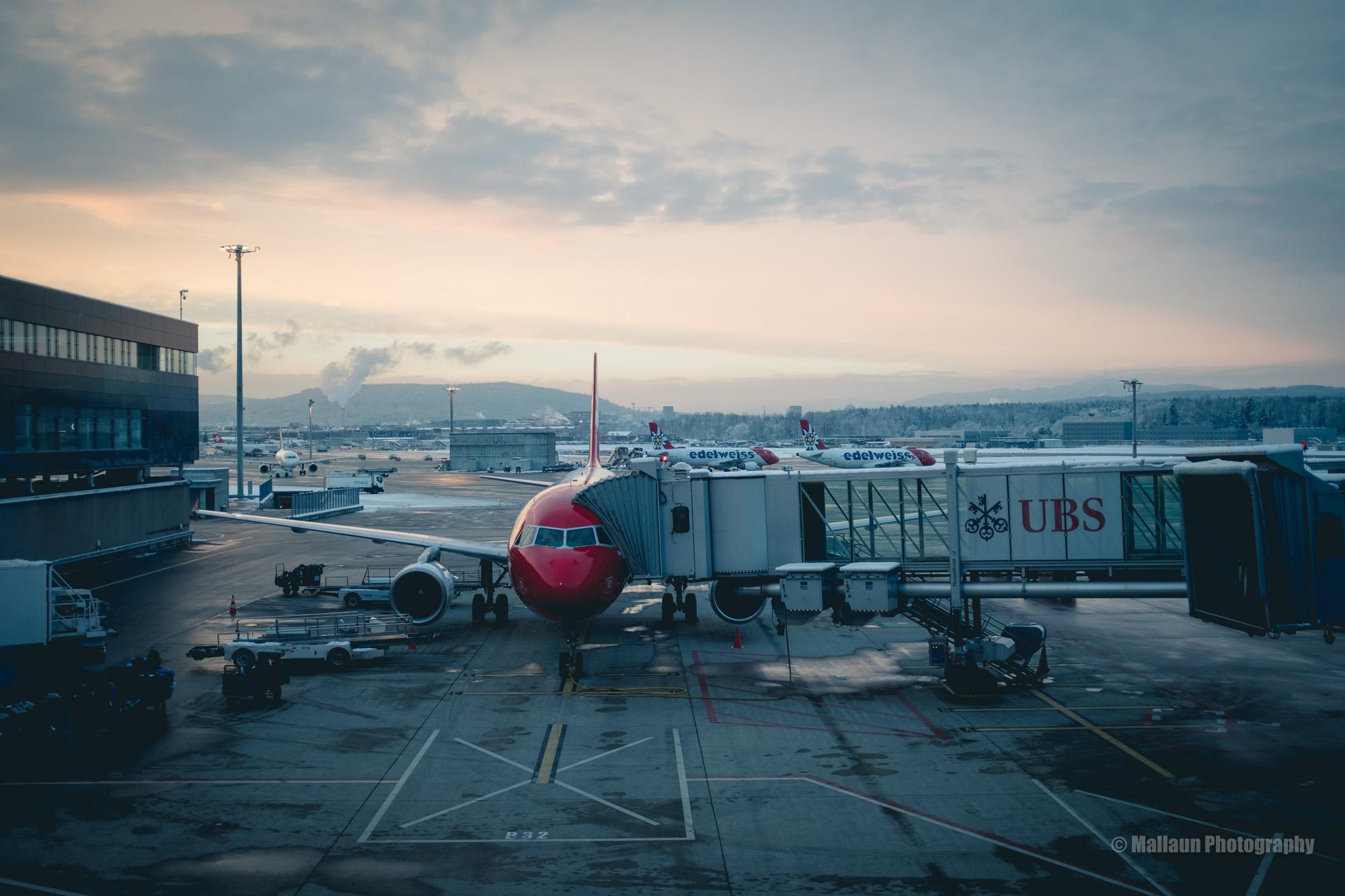 Flughafen Zürich © Mallaun Photography