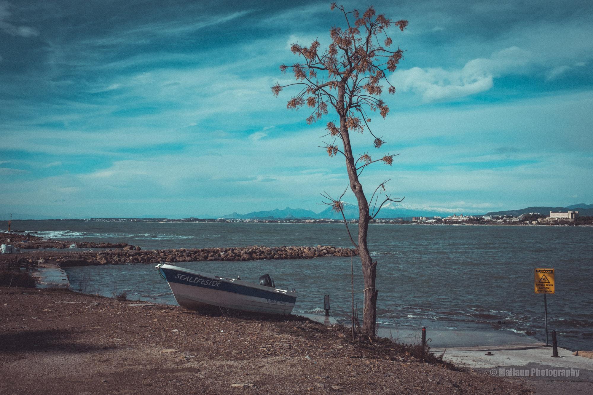 Hafen von Side © Mallaun Photography