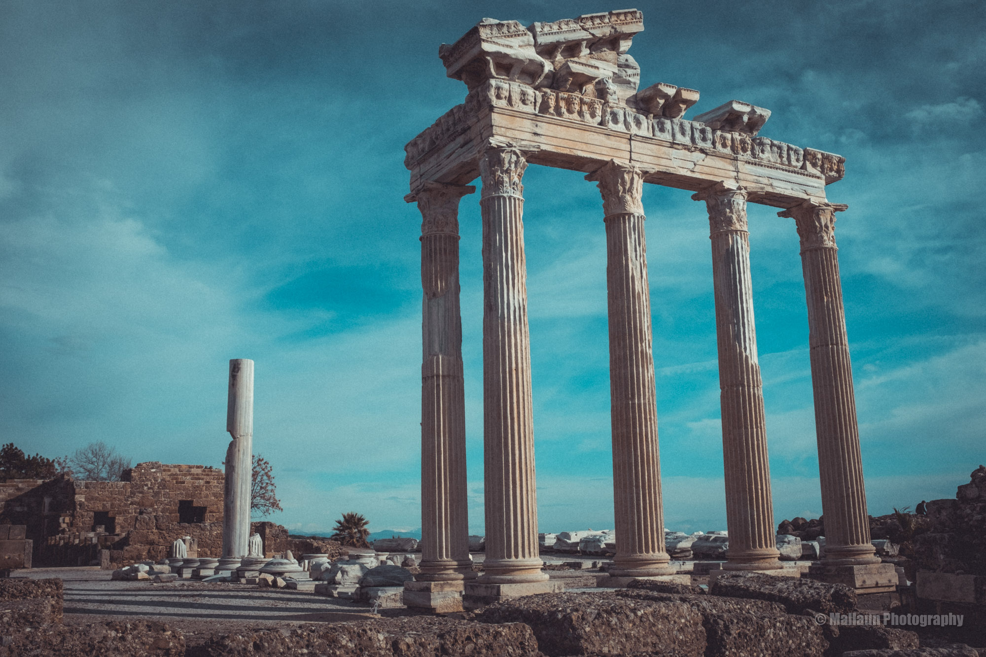 Sehr eindrücklich; Die Ruinen in Side © Mallaun Photography