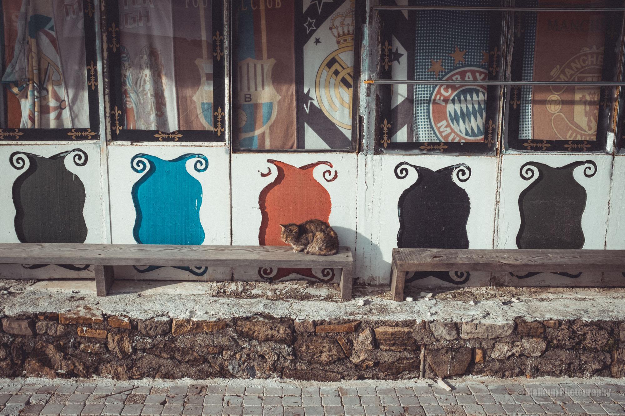 Stilleben im verlassenen Touristenort © Mallaun Photographs