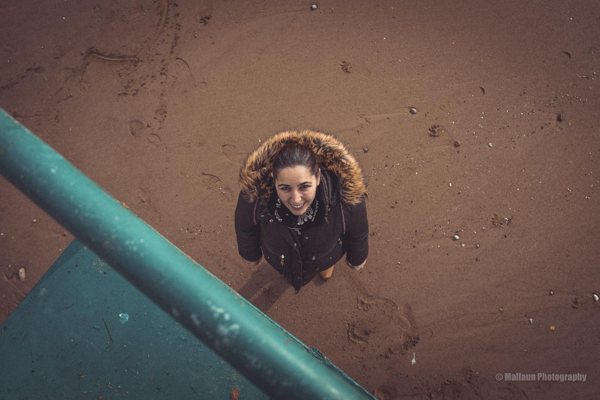 Beach Girl Side © Mallaun Photography