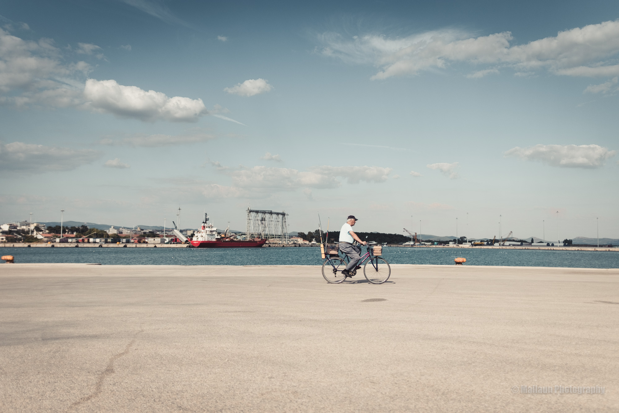 Fahrradfahrer in Griechenland © Mallaun Photography