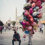 Ballonverkäufer, Spider Man und Füsse in Edirne © Mallaun Photography