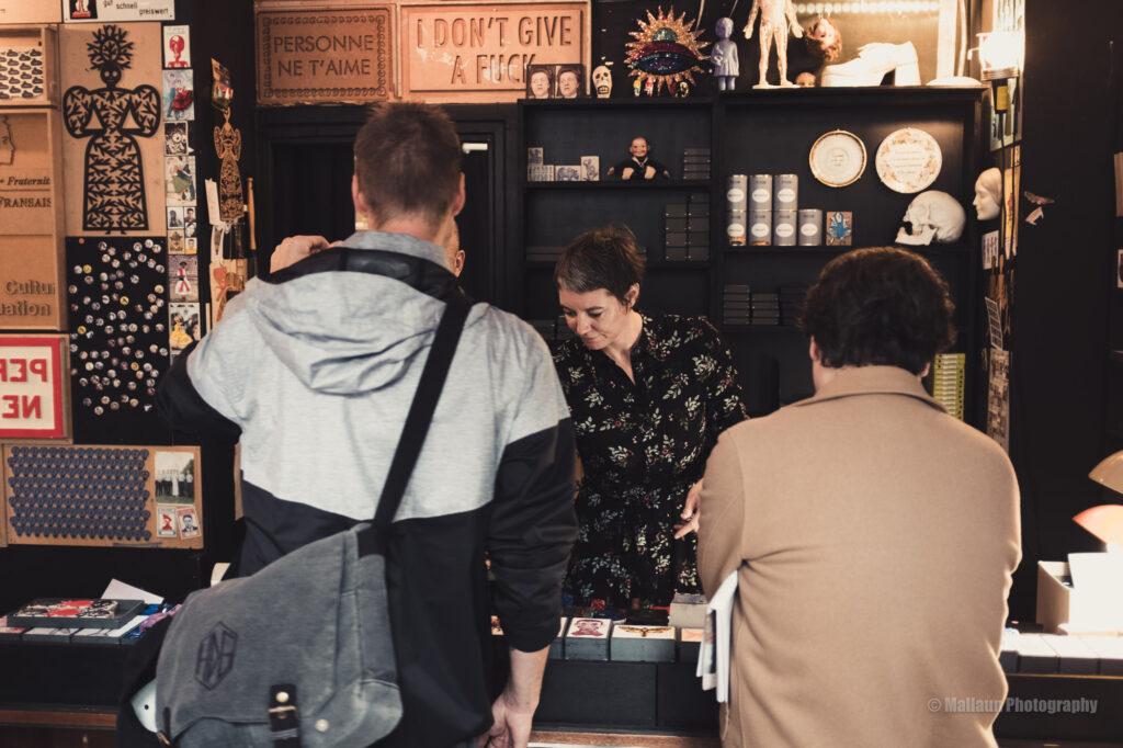Starkes Duo: Vincent Sardon mit Eva Aebischer