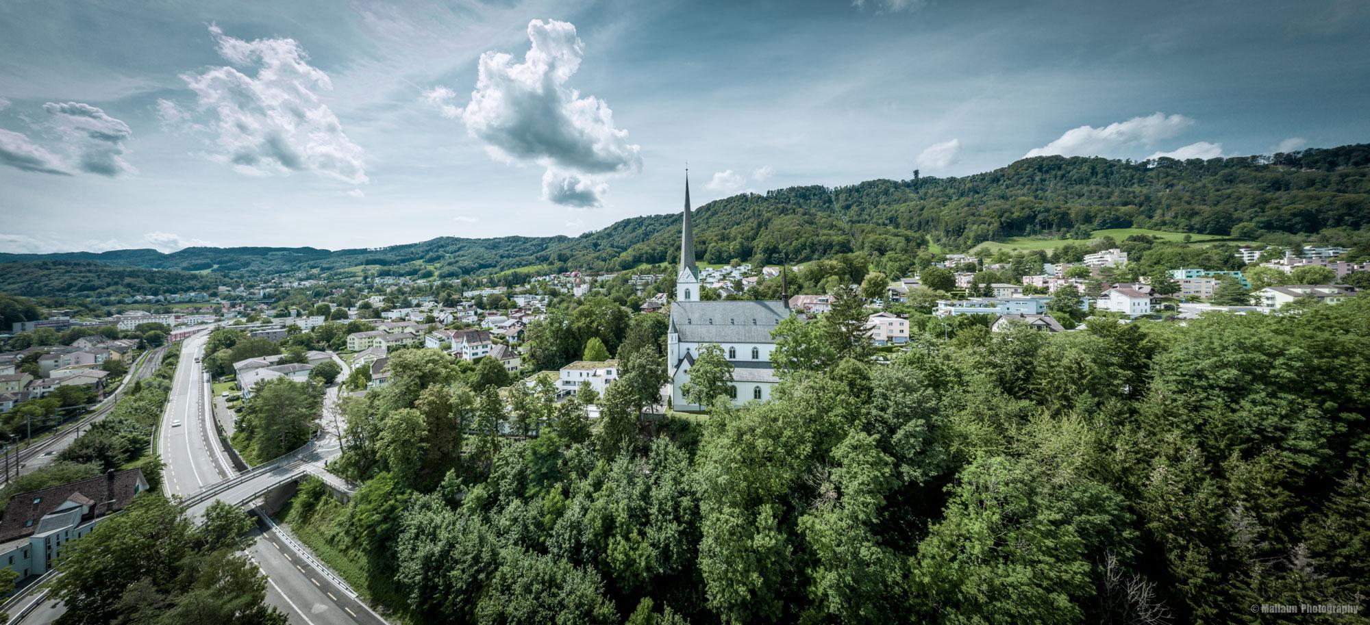 Drohnen-Panorama von Adliswil mit der Mavic Pro 2 © Mallaun Photography