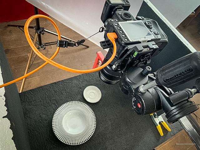 Kamera für Tether-Shooting einrichten