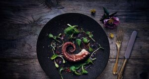 Das schönste Model in der Food-Photography - der Pulpo